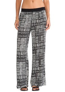 Sanctuary Palazzo Pants in Black & White