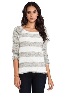 Sanctuary Party Stripe Sweater in Gray