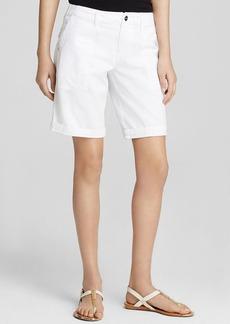 Sanctuary Peace Cotton Bermuda Shorts