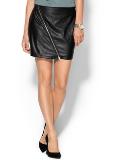 Sanctuary Perforated Vegan Mini Skirt