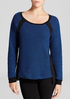 Sanctuary Sheer Inset Sweater