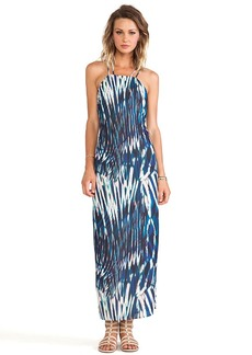 Sanctuary Shore Maxi Dress in Blue