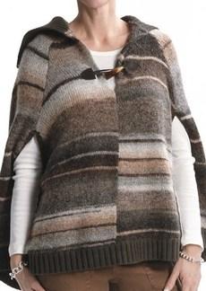 Sanctuary Striped Poncho (For Women)