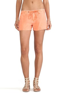 Sanctuary Surf Shorts in Orange