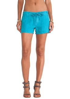 Sanctuary Surf Shorts in Teal