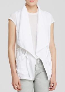 Sanctuary Traveller Drawstring Cotton Vest