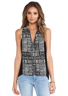 Sanctuary Tribal Tank in Black