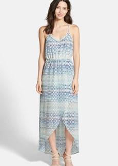 Sanctuary 'Waterfall' Print Halter Maxi Dress