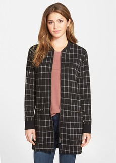 Sanctuary Windowpane Check City Coat