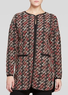 Sanctuary Zig Zag Knit Jacket