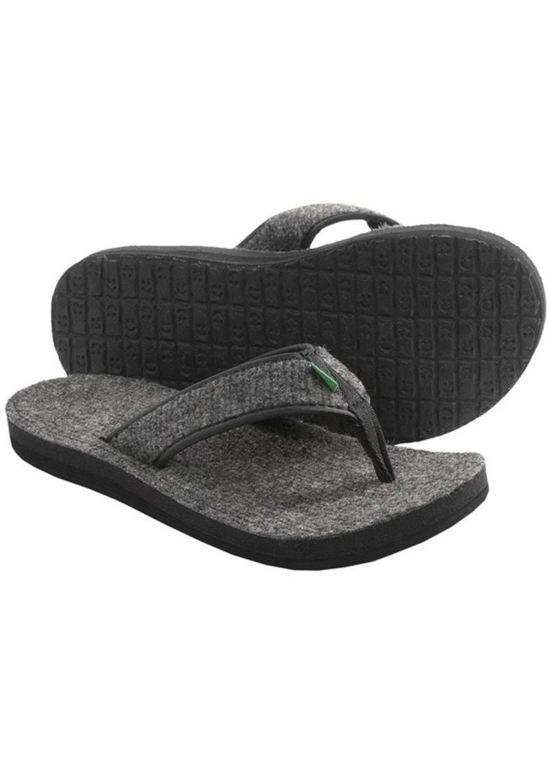 Sanuk Sanuk Fur Real Cozy Sandals Flip Flops For Men