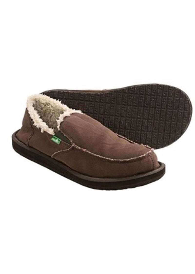 Sanuk Sanuk Vagabond Chill Shoes - Slip-Ons (For Men) (Sizes 7, 13, 9, 8, 10, and 6)   Shop It ...