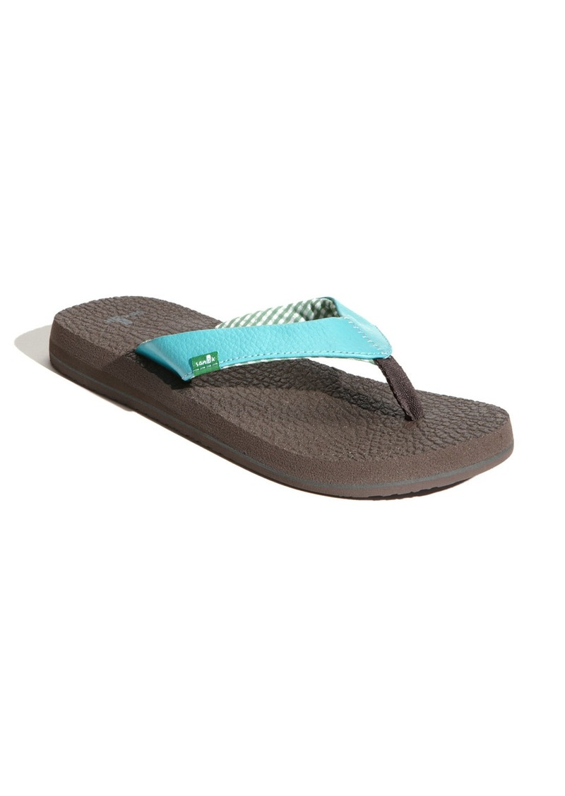 Sanuk Sanuk Yoga Mat Flip Flop Women Shoes Shop It