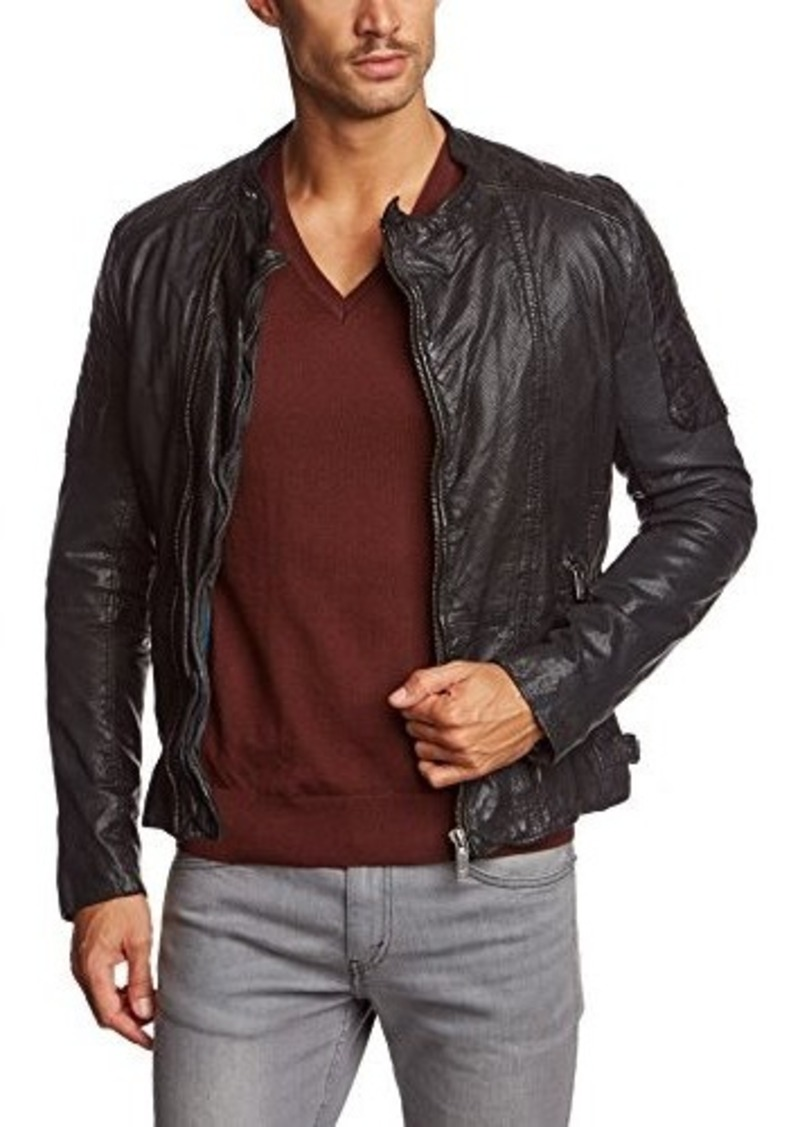scotch soda scotch soda men 39 s mix and match biker jacket outerwear shop it to me. Black Bedroom Furniture Sets. Home Design Ideas
