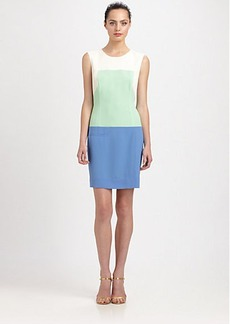 Shoshanna Adelia Colorblock Dress