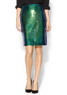 Shoshanna Alycia Sequin Skirt