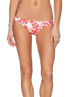 Shoshanna Beach Vines Classic Bikini Bottom