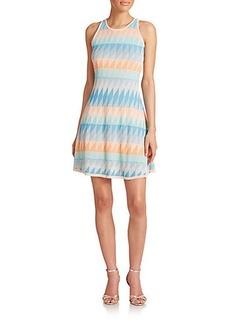 Shoshanna Blythe Knit Fit-&-Flare Dress