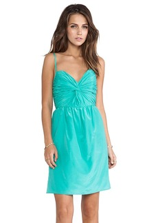 Shoshanna Carine Dress in Green
