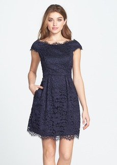 Shoshanna 'Cecile' Lace Fit & Flare Dress