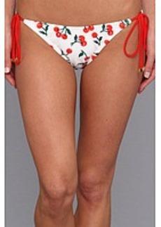 Shoshanna Cherries Print String Bikini Brief