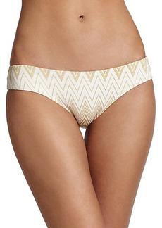 Shoshanna Chevron Hipster Bikini Bottom