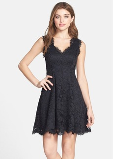 Shoshanna 'Cindy' Lace Fit & Flare Dress