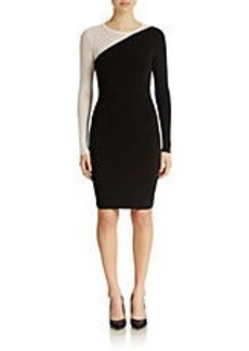 SHOSHANNA Colorblocked Sheath Dress