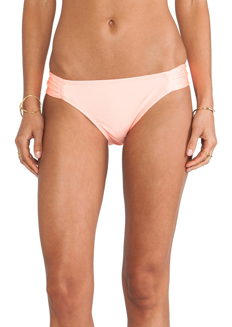 Shoshanna Coral Solid Bikini Bottom