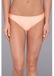 Shoshanna Coral Solid Bikini Brief