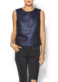 Shoshanna Cropped Fern Top