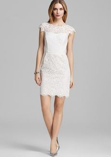 Shoshanna Dress - Scarlett Cap Sleeve Lace