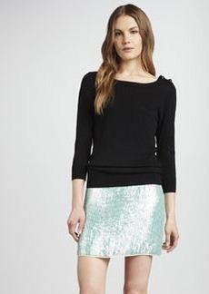 Shoshanna Elaina Sequined Miniskirt
