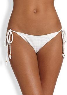 Shoshanna Emery Mills Eyelet Bikini Bottom
