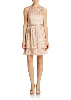 SHOSHANNA Fit-and-Flare Cocktail Dress