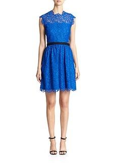 Shoshanna Floral Lace Sana Dress