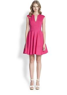 Shoshanna Gabriella Ponte Knit Fit-&-Flare Dress