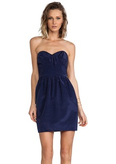 Shoshanna Jasmine Dress in Navy