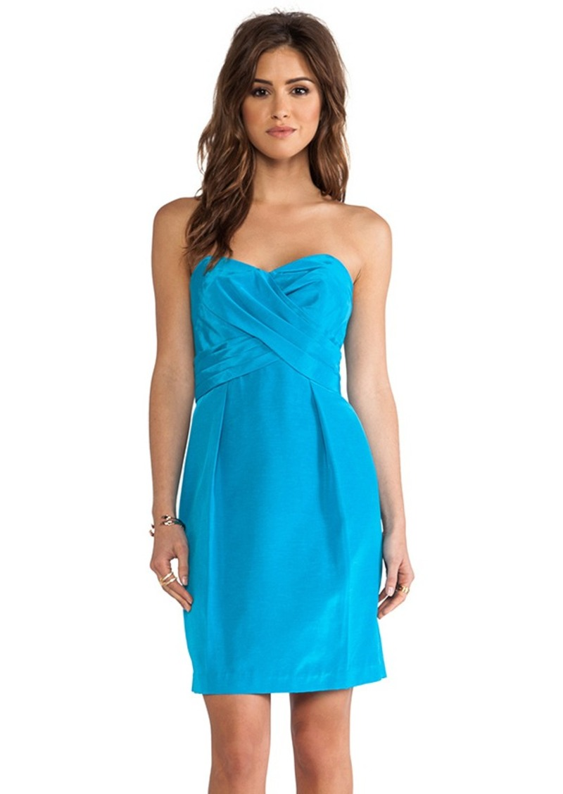 Shoshanna Kira Dress in Turquoise