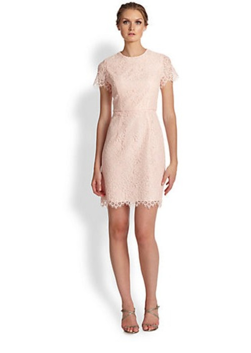 Shoshanna Lace Sheath Dress
