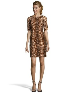Shoshanna leopard print 'Lainey' sheath dress