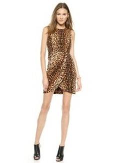 Shoshanna Leopard Sheath Dress