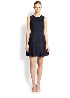 Shoshanna Lizzie Poplin & Eyelet Dress