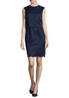 Shoshanna Lola Pop Top Lace Dress