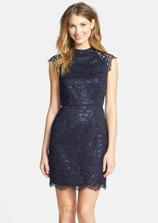 Shoshanna 'Mariah' Lace Sheath Dress