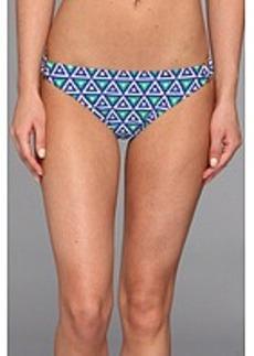 Shoshanna Mediterranean Geo Print Ring Bikini Brief