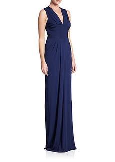 Shoshanna MIDNIGHT Eliza Jersey Gown