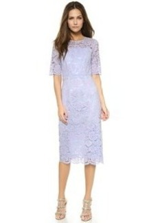 Shoshanna Midnight Ray Lace Dress