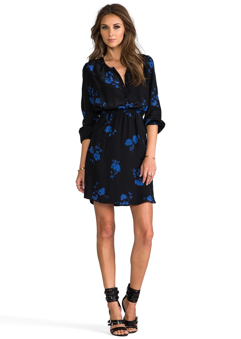 Shoshanna Oakes Garden Print Mirabel Dress