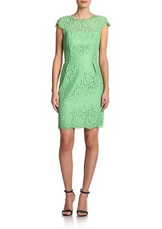 Shoshanna Olivia Lace Sheath